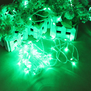 100 LED 10m Green String Decoration Light For Christmas 110V 220V