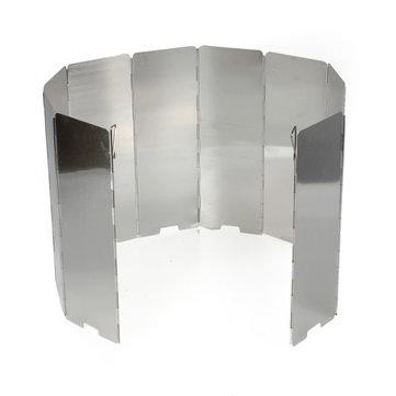 Outdoor liga de alumínio churrasco fogão de campismo vento quebra-vento escudo cookout