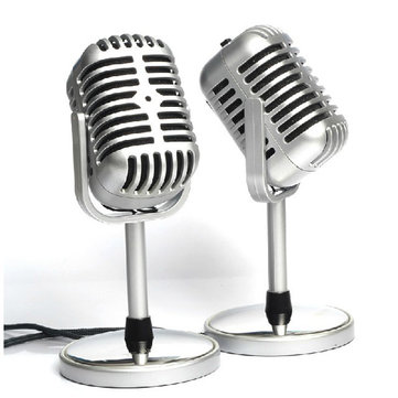 Classical Nostalgic Microphone For Networking Chat MSN SKYPE
