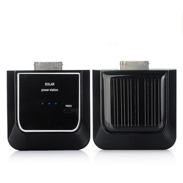 Zwarte Zonne draagbare Backup Power voor iPhone 4G 3G iPod Nano Touch