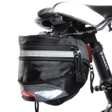 Waterproof Tail Packet Extended Bicycle Saddle Cushion Bag Kit