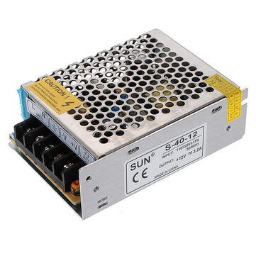 12V 3.2A 40W Switch Power Supply Driver For LED Light Strip 110V/220V