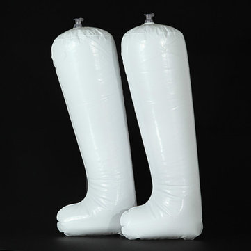 Inflatable Long Boots Shoes Stand Holder Stretcher Shoes Accessories