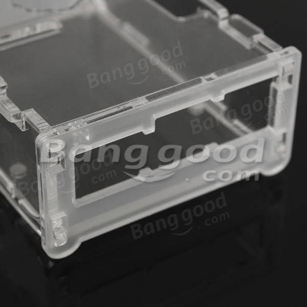 Acrylic Transparent Case For Raspberry Pi B+