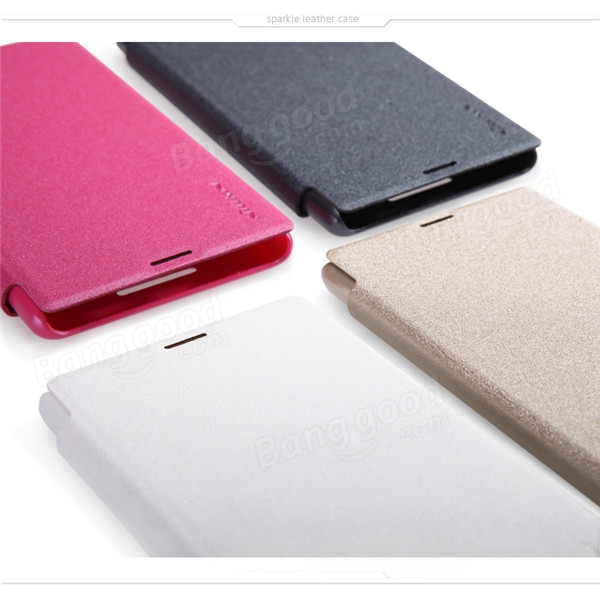 NILLKIN Sparkle Leather Case For Sony Xperia E3 ...