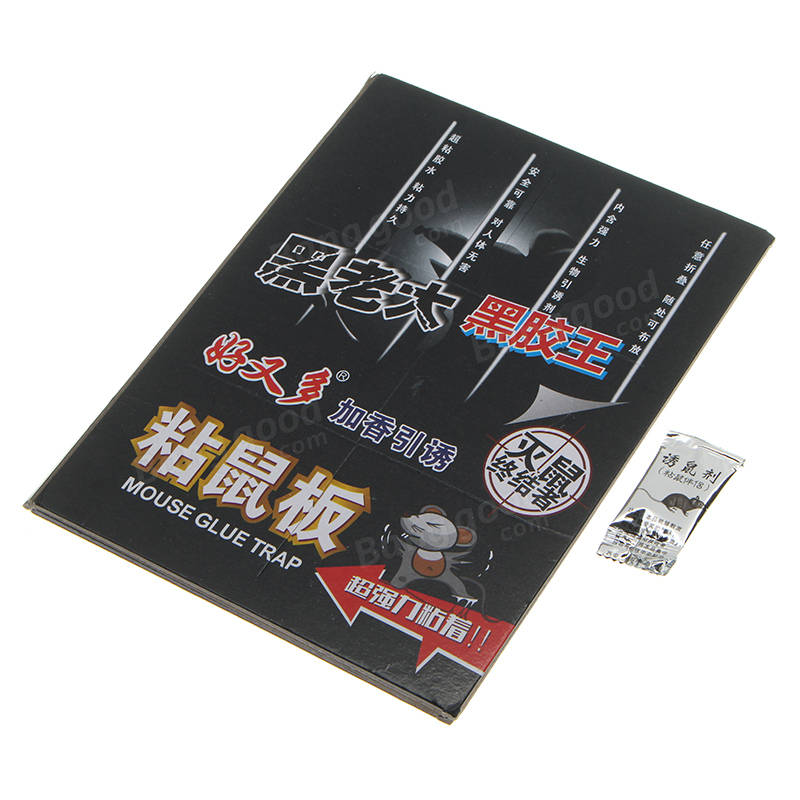 400×260mm Mouse Insect Lizard Spider Snake Super Glue Boards Sticky Traps Peanut Butter Scented Glue