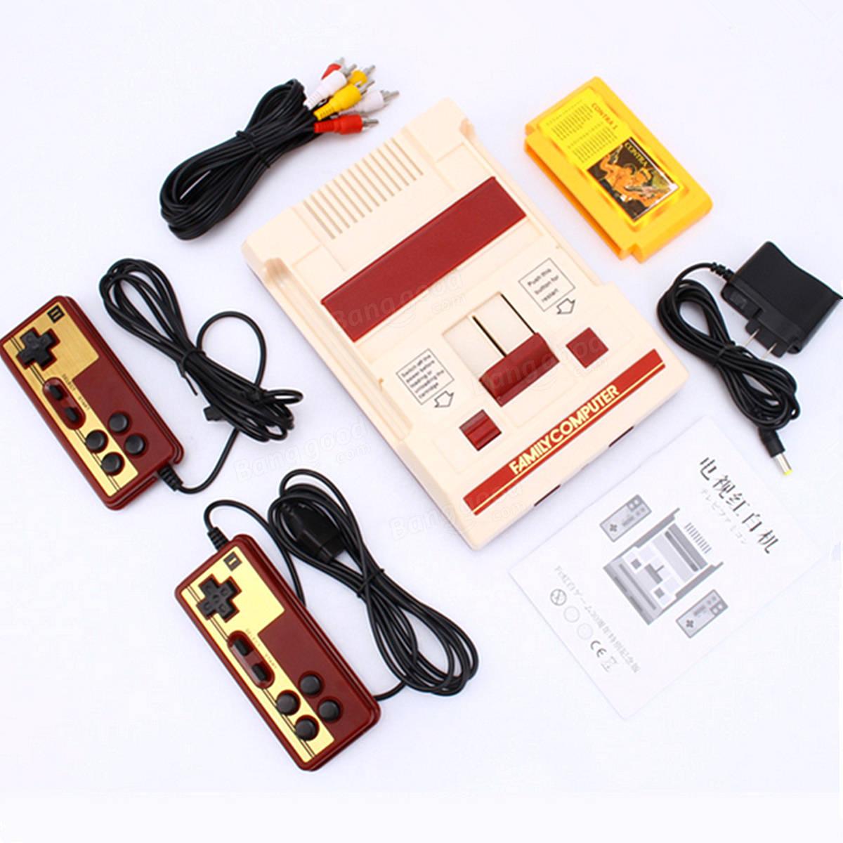 Subor D99 8 Bit Classic TV Video NTSC Game Console Retro Gamepad 500