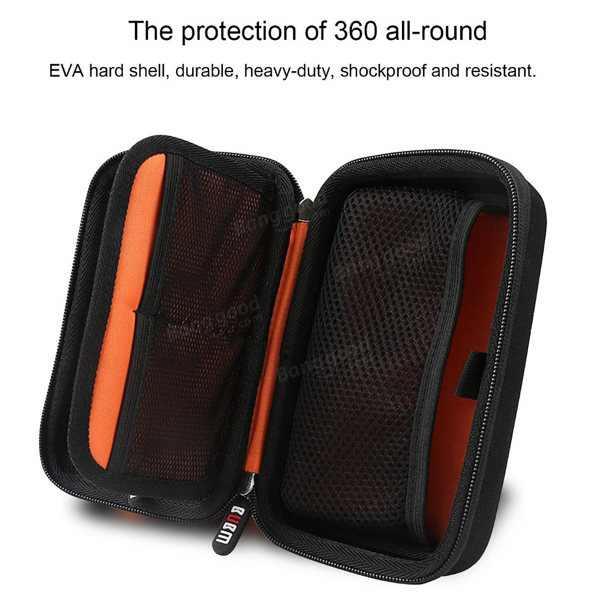 BUBM EVA Portable Carry Bag Storage Box Case for 2DSLL 3DSLL/XL Host Accessories