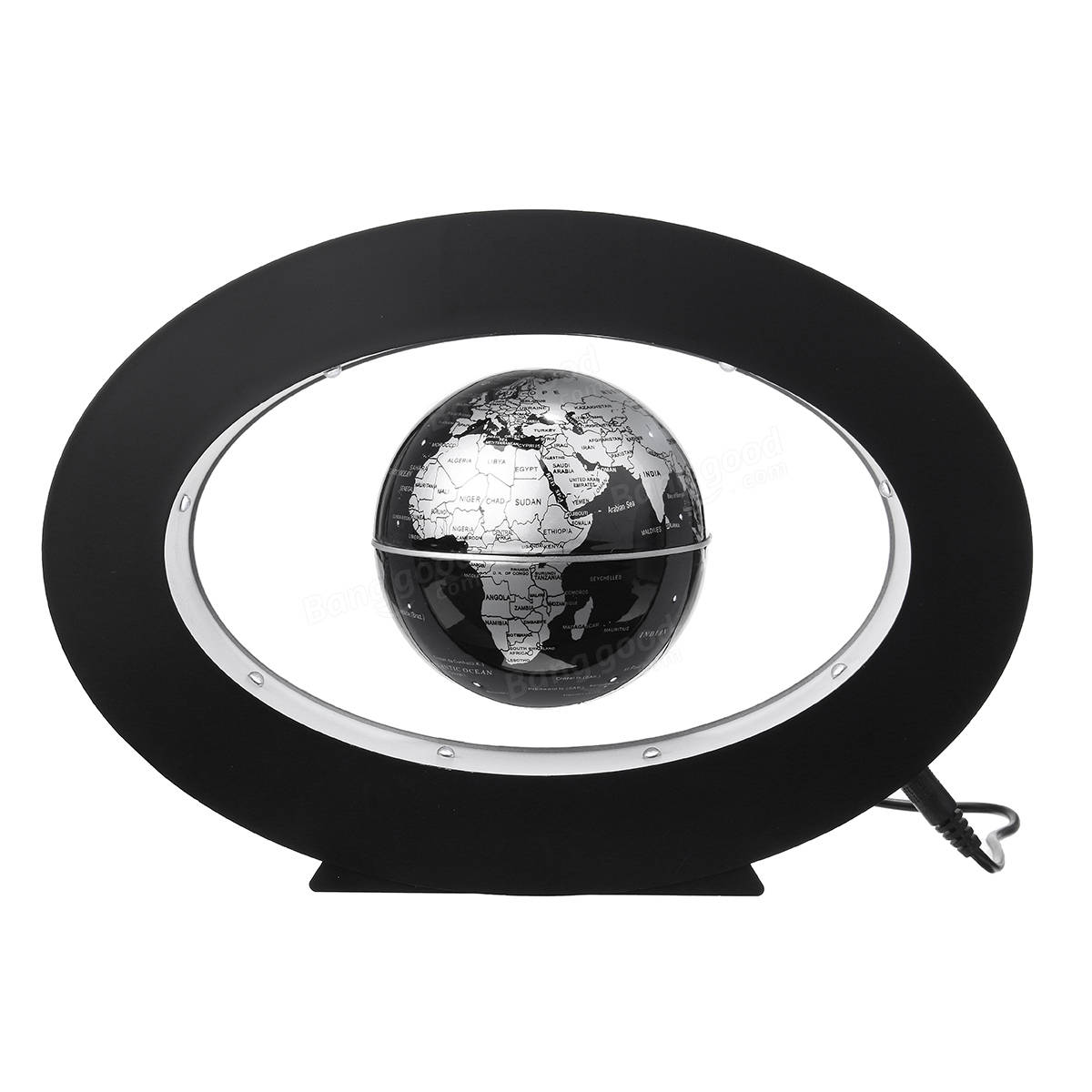 Magnetic levitation floating world map globe desktop rotating planet magnetic levitation floating world map globe desktop rotating planet earth globe ball led light gumiabroncs Choice Image