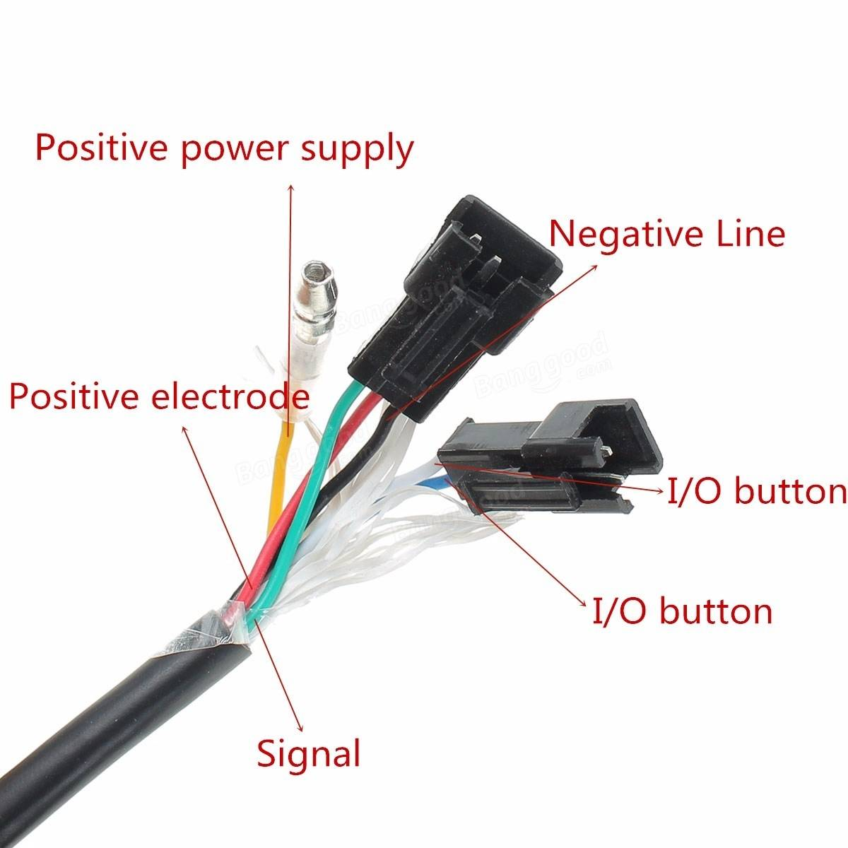 E Bike Throttle Wiring Diagram And Schematics Razor Electric Scooter Controller Source 12 84v Handle With Digital Vole Indicator