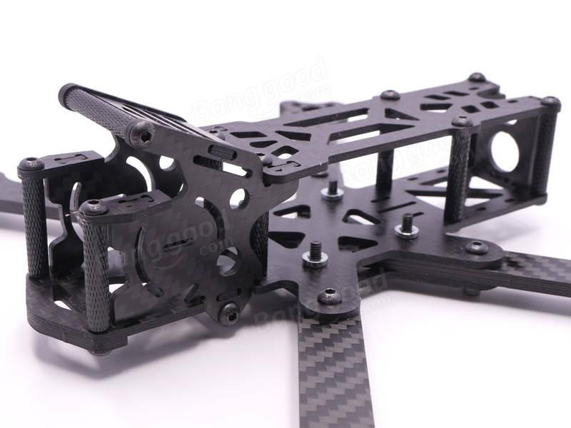 223mm Wheelbase 4mm Arm Thickness Carbon Fiber FPV Racing Frame Kit ...
