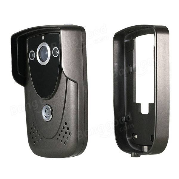 SY905FC21 Video Door Phone Doorbell Intercom Kit 900TVL IR Night Vision 2-Camera 9 Inch TFT LCD 1-Monitor