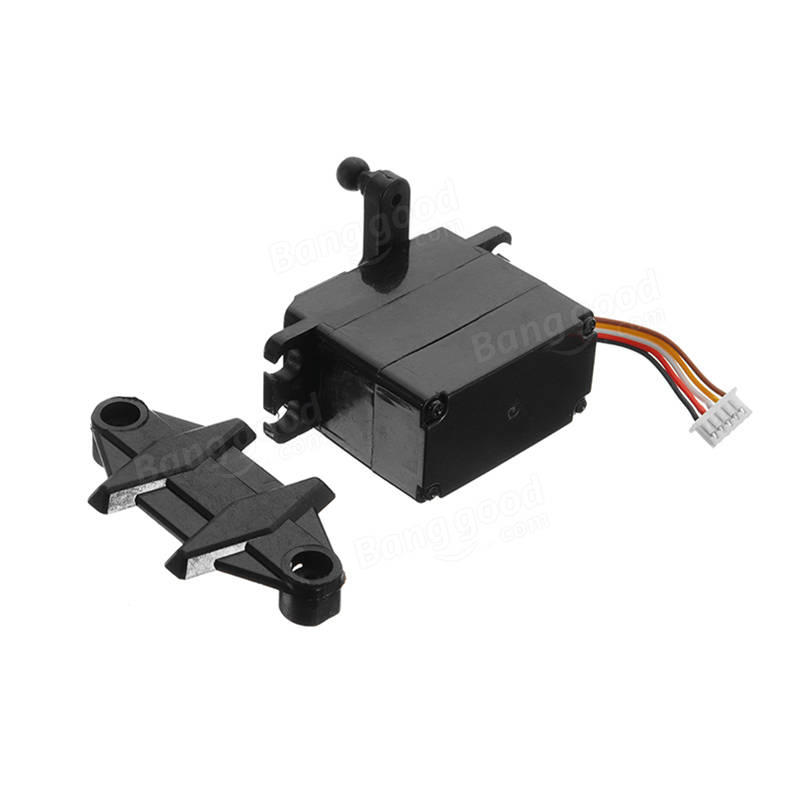 5-wire 2.2kg 19g Servo With Metal Gear For 9125 1/10 RC Car Parts No.25-ZJ04