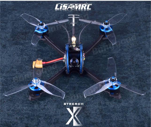 Lisamrc LS-X220 FPV Racing RC Drone PNP/BNF Omnibus F4 PLUS 35A Blheli_S ESC 48CH 25/200/400mW VTX