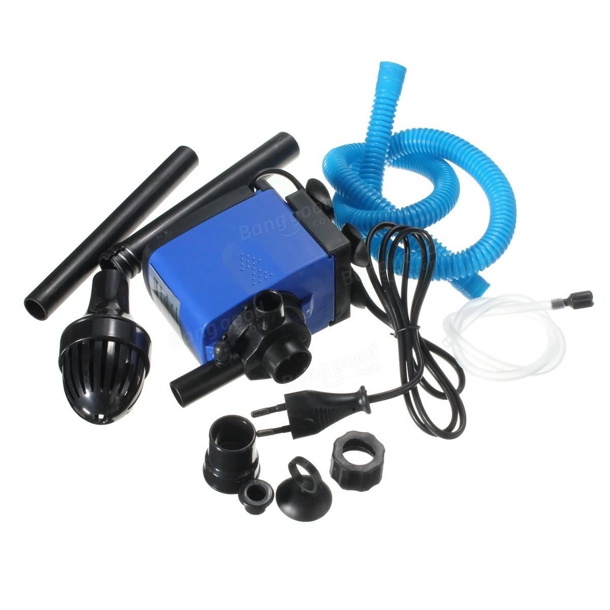 3 in 1 Aquarium Wave Maker Internal Purifier Filter Oxygen Water Pump