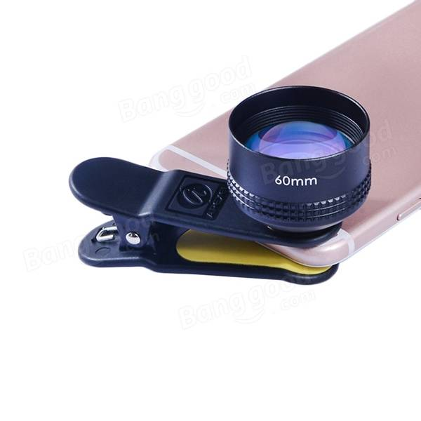 APEXEL 60mm 2X HD SLR Telephoto Portrait Lens for iPhone Samsung Xiaomi HTC