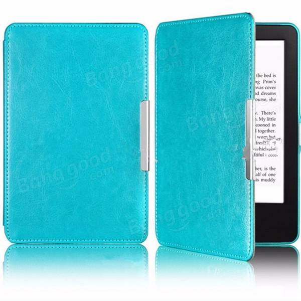 Slim Magnetic Smart PU Case Cover For Kindle Paperwhite 1 2 3 eBook Reader
