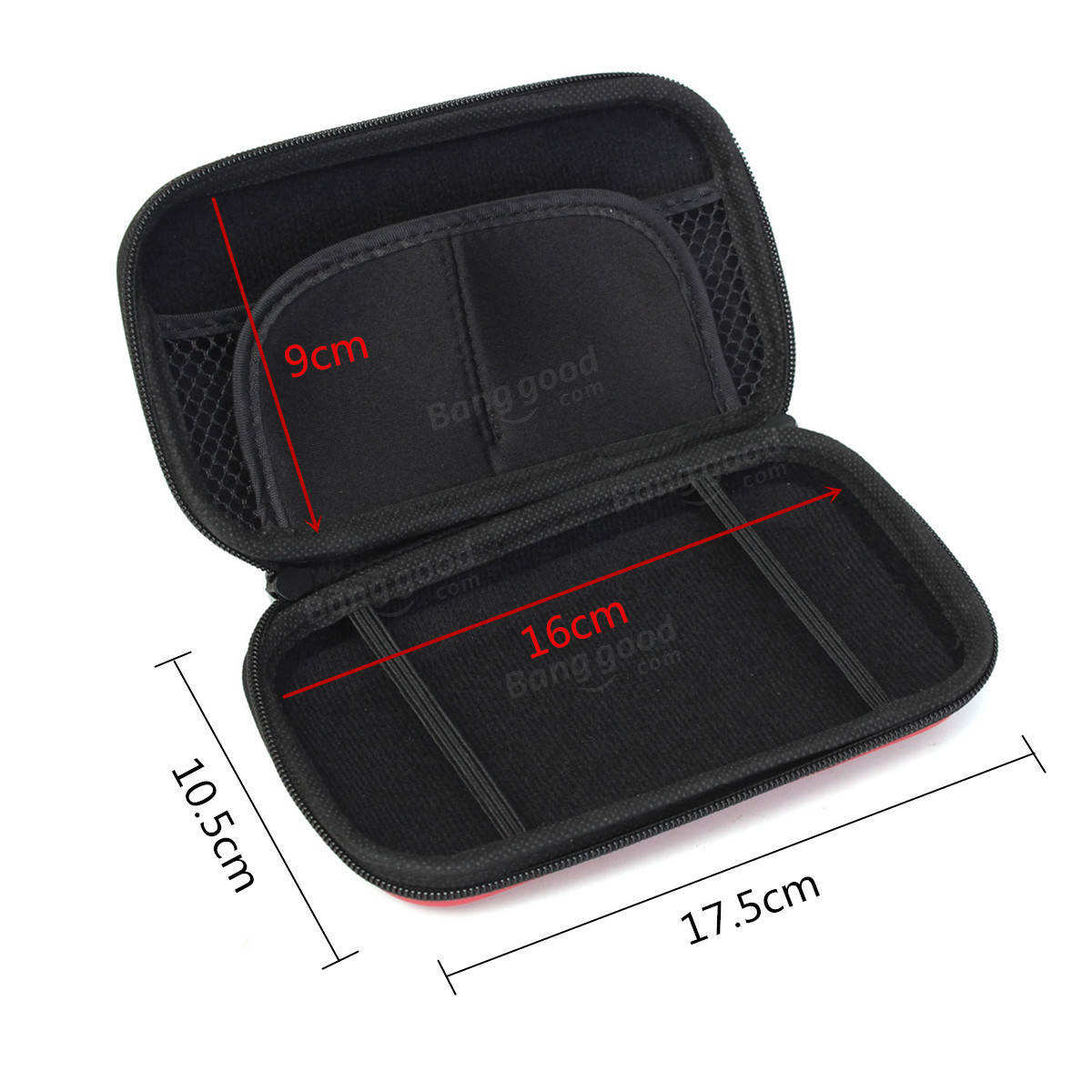 Hard EVA Carry Case Accessory Cover Box For Nintendo 3DS Sleeve Bag Pouch