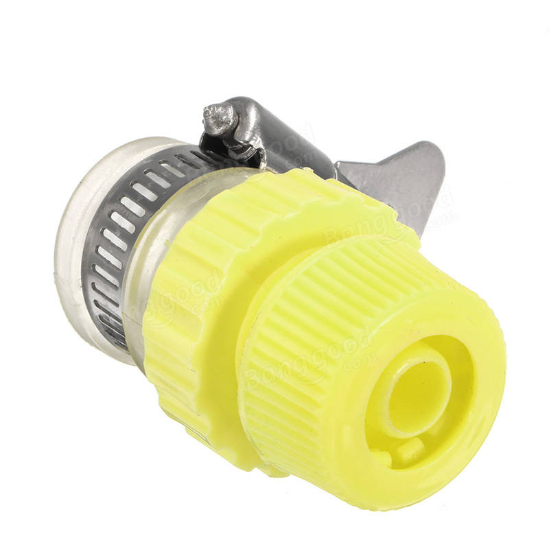 1/2 Inch Rubber Water Tap Hose Pipe Connector Adjustable Mixer ...