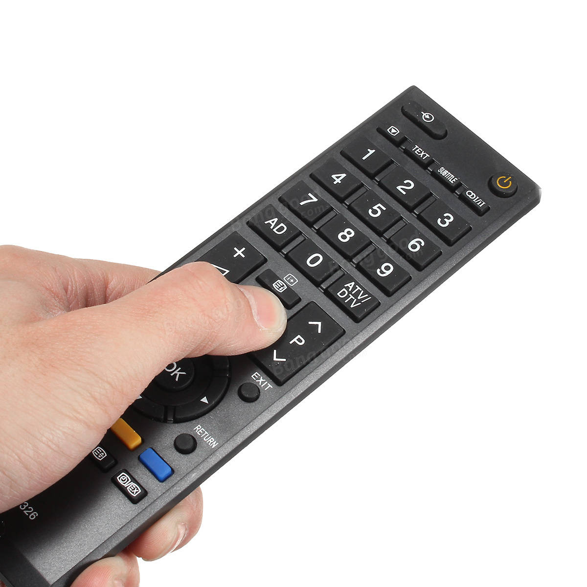 Replacement remote control for toshiba tv ct 90326 ct90326 sale replacement remote control for toshiba tv ct 90326 ct90326 fandeluxe Choice Image
