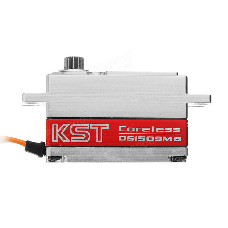 KST DS1509MG Coreless Metal Gear 12.8KG Digital Wing Low Profile Servo for RC Model
