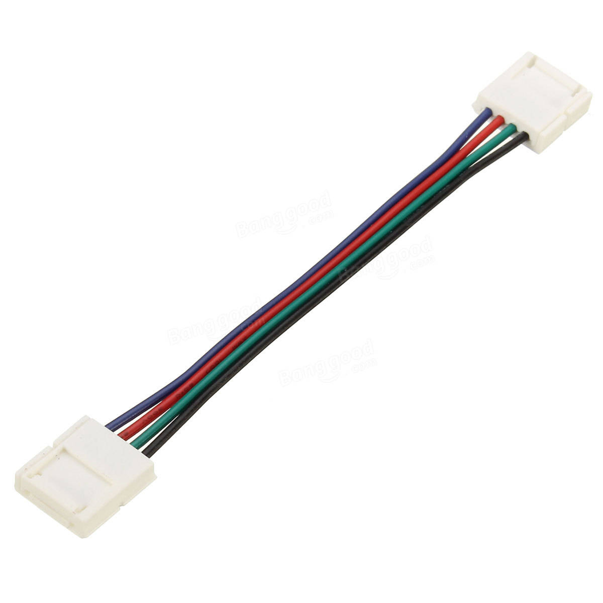 10 30 50 100cm 10mm 4 Pin Rgb Connector Cable Wire Wiring Extension Cord