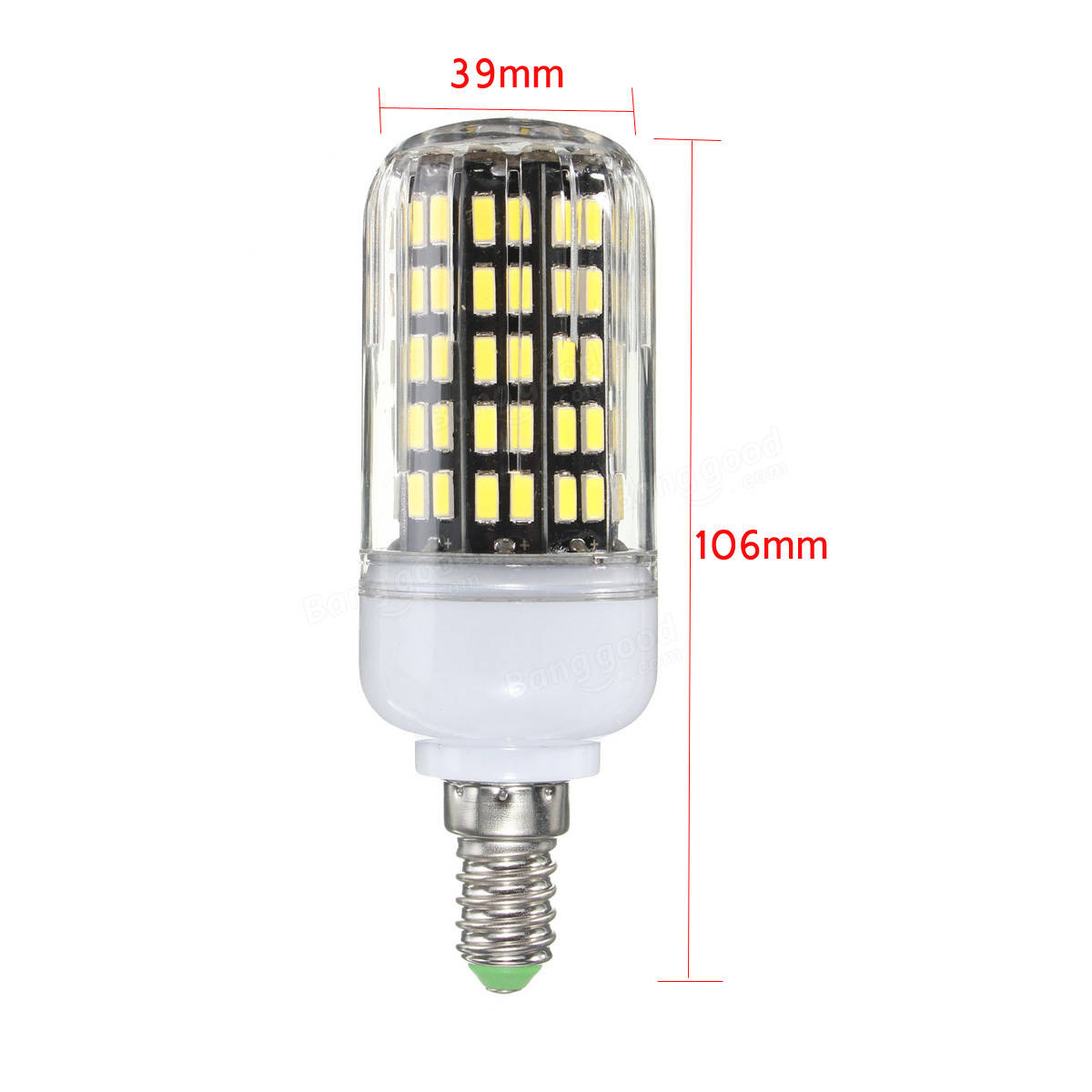 e27 e14 b22 10w 108 smd 5733 1250lm led couvercle lampe la lumi re de ma s ampoule ac220v. Black Bedroom Furniture Sets. Home Design Ideas