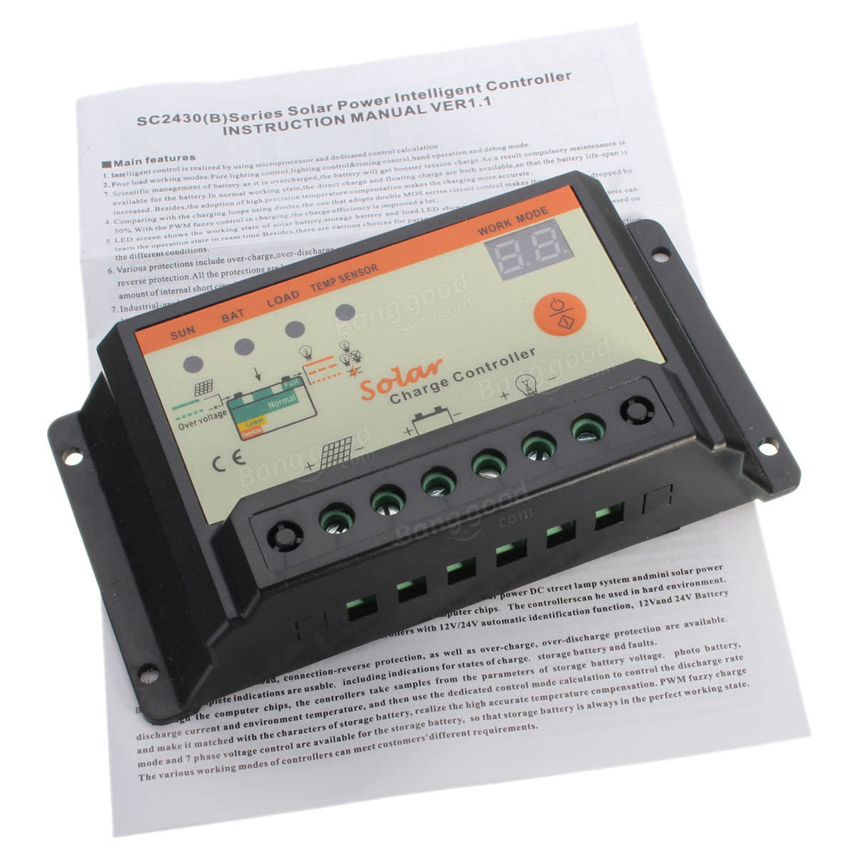 Solar Charge Controllers The Heart Of Any System They Are An Scc3 12 Volt 20 Amp Controller Intelligent 12v 24v Pwm Panel Auto Battery Regulator 10a 20a For Optional
