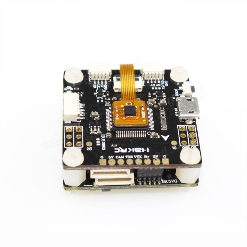 HAKRC F4V3 Flytower F4 Flight Controller OSD Built-in PDB BEC + 30A BLHeli_S 4 IN 1 ESC For RC Drone