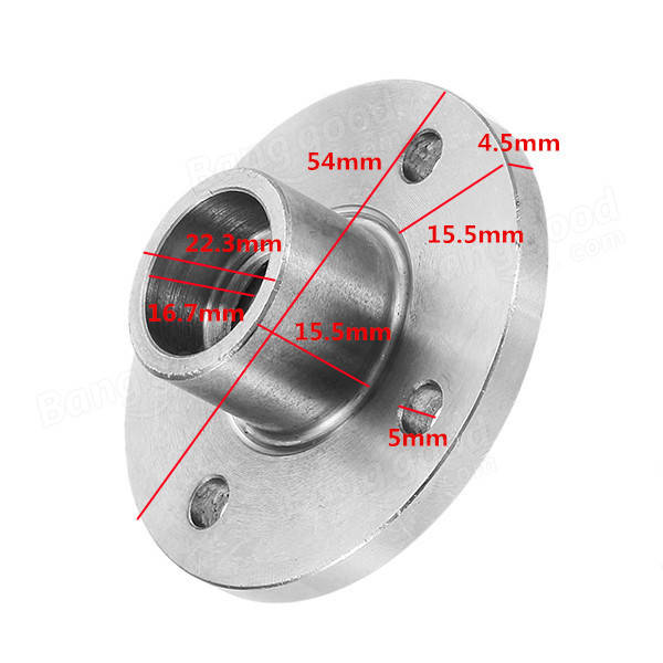 Machifit 125 Angle Grinder Flange M14 22mm ID Saw Blades Support Fixed Seat Steel Rigid Flange