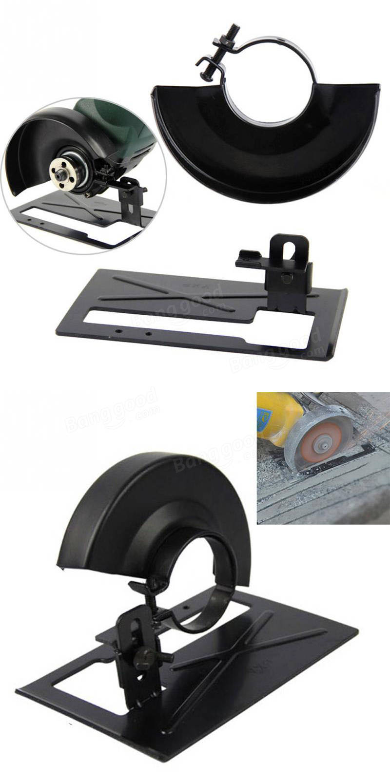 125mm Angle Grinder Bracket With Cover Changed Angle Grinder Into Cutting Machine