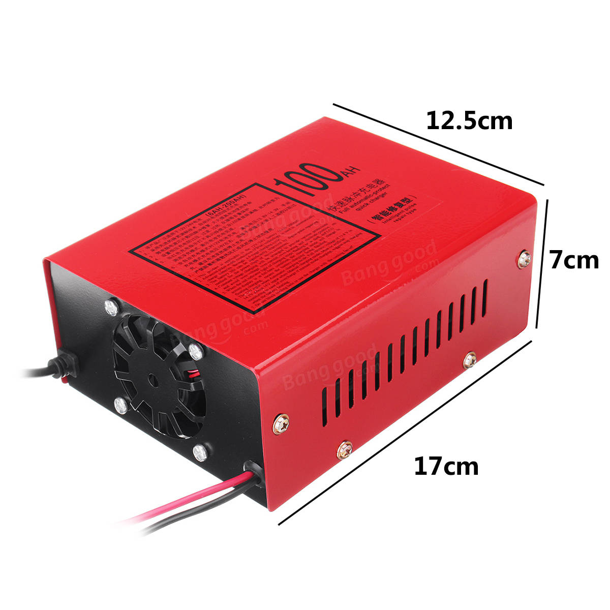 220V/110V 12V/24V Battery Charger Full Automatic Electric Lead Acid