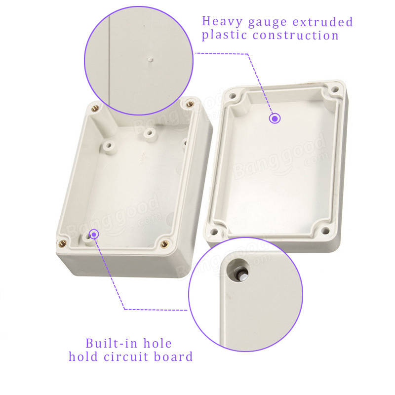 85x58x33mm Waterproof Cover Plastic Electronic Project Box Enclosure Case