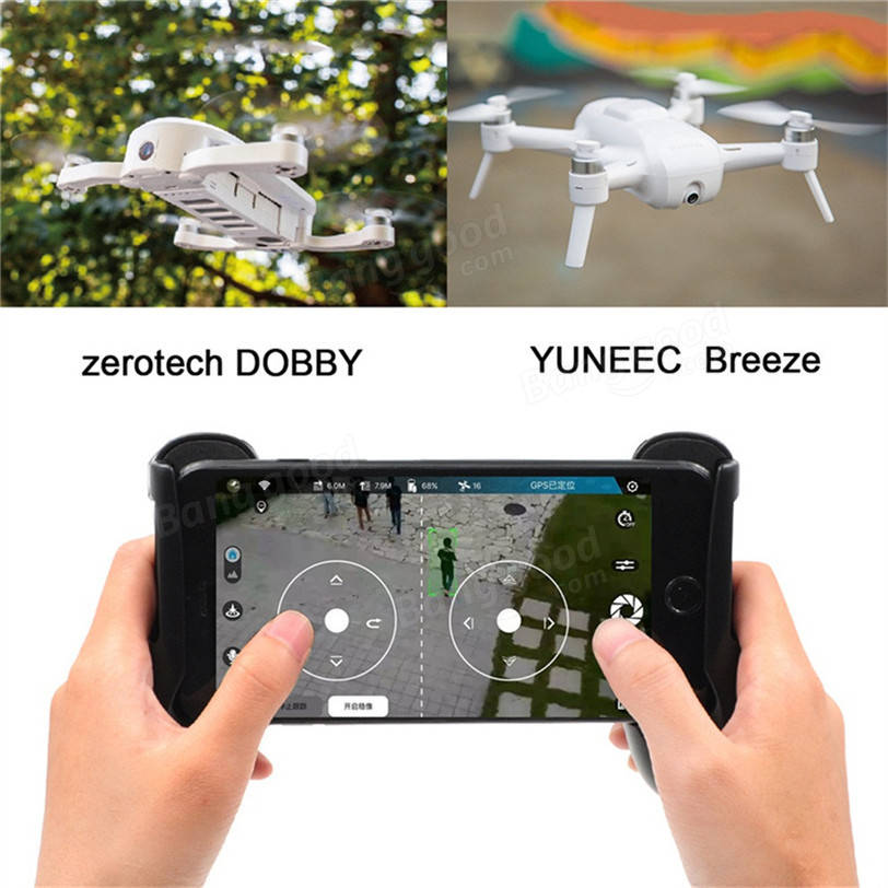 WIFI Drone Transmitter Controller Handle Phone Holder For