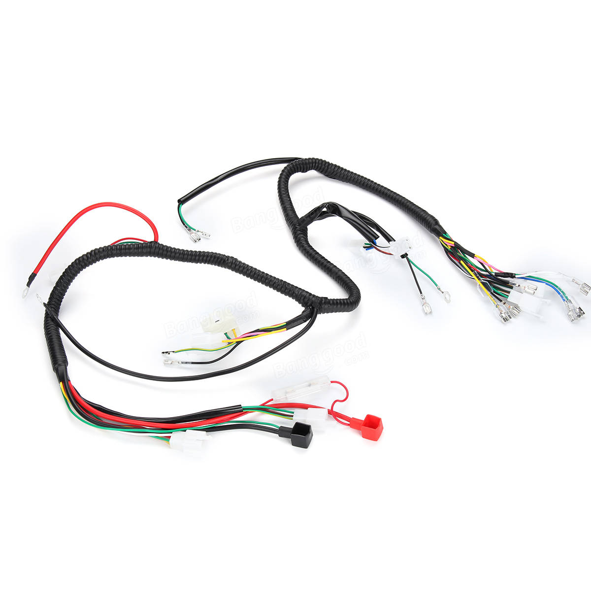 150cc 250cc Electirc Start Wiring Harness For PIT Quad Dirt Bike ATV Buggy