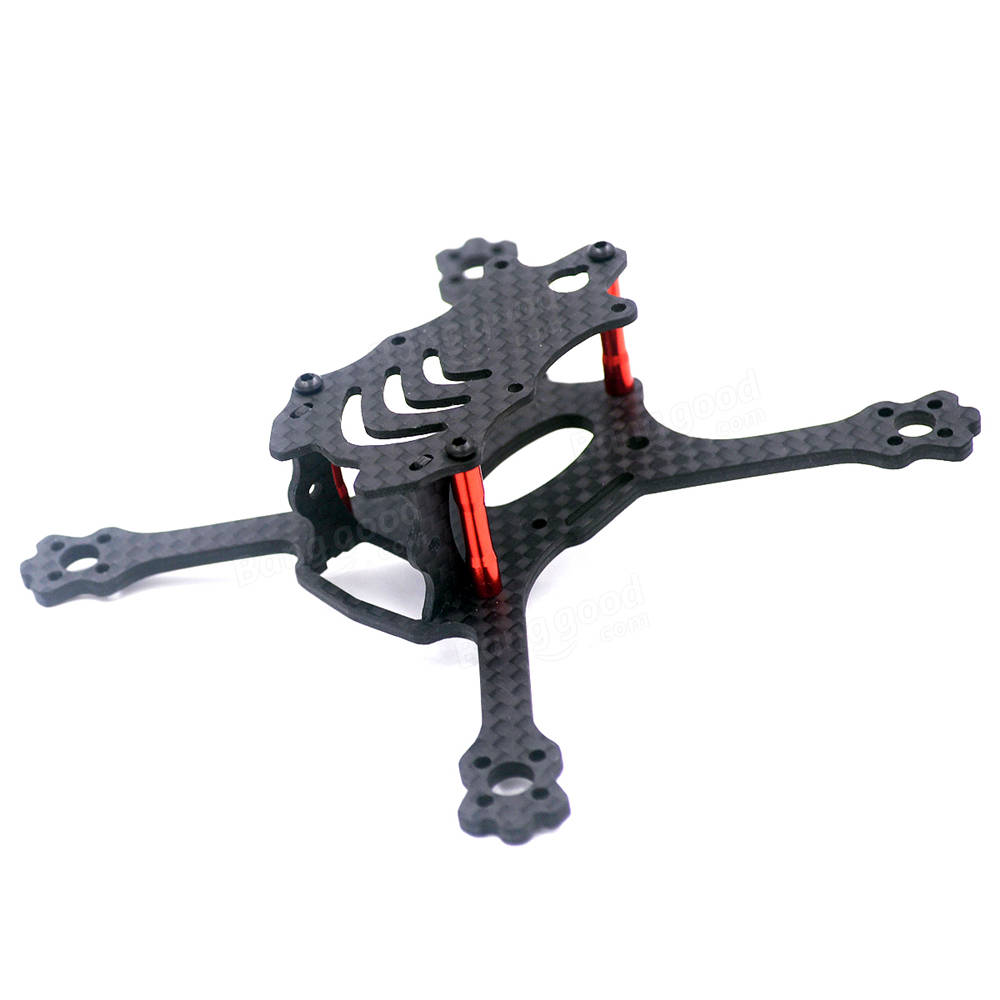 Alfa Genie110 110mm FPV Racing Frame Freestyle Stretch X Frame Kit For RC Drone