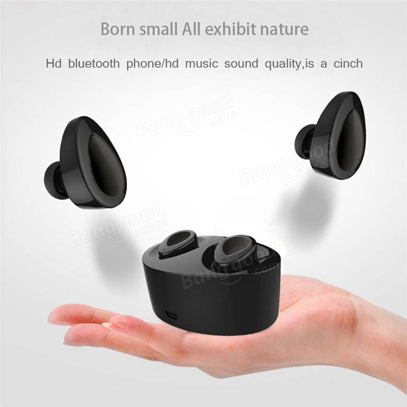 Bluetooth earbuds mini tws with charging case - wireless earbuds charging case