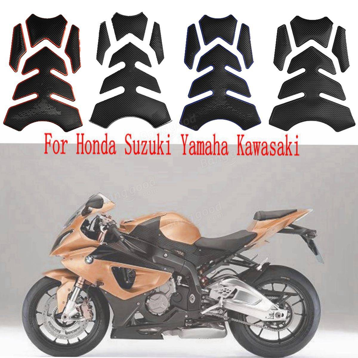 motorrad tank pad decals aufkleber f r honda suzuki. Black Bedroom Furniture Sets. Home Design Ideas