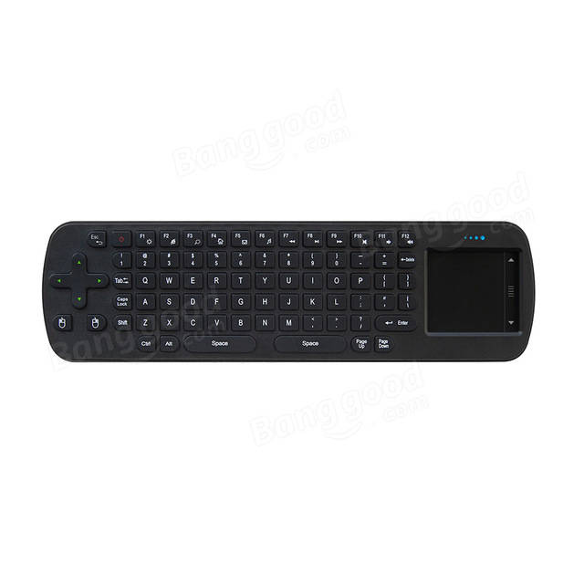 Measy RC12 2.4G Wireless Mini Keyboard Touchpad Air Mouse