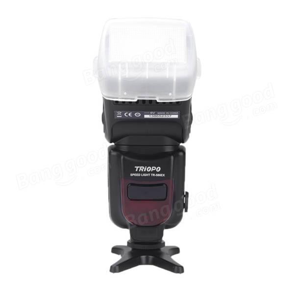 Triopo TR-586EX Wireless Flash Mode TTL Speedlite For Nikon D750 D800 D3200 D7100 DSLR Camera