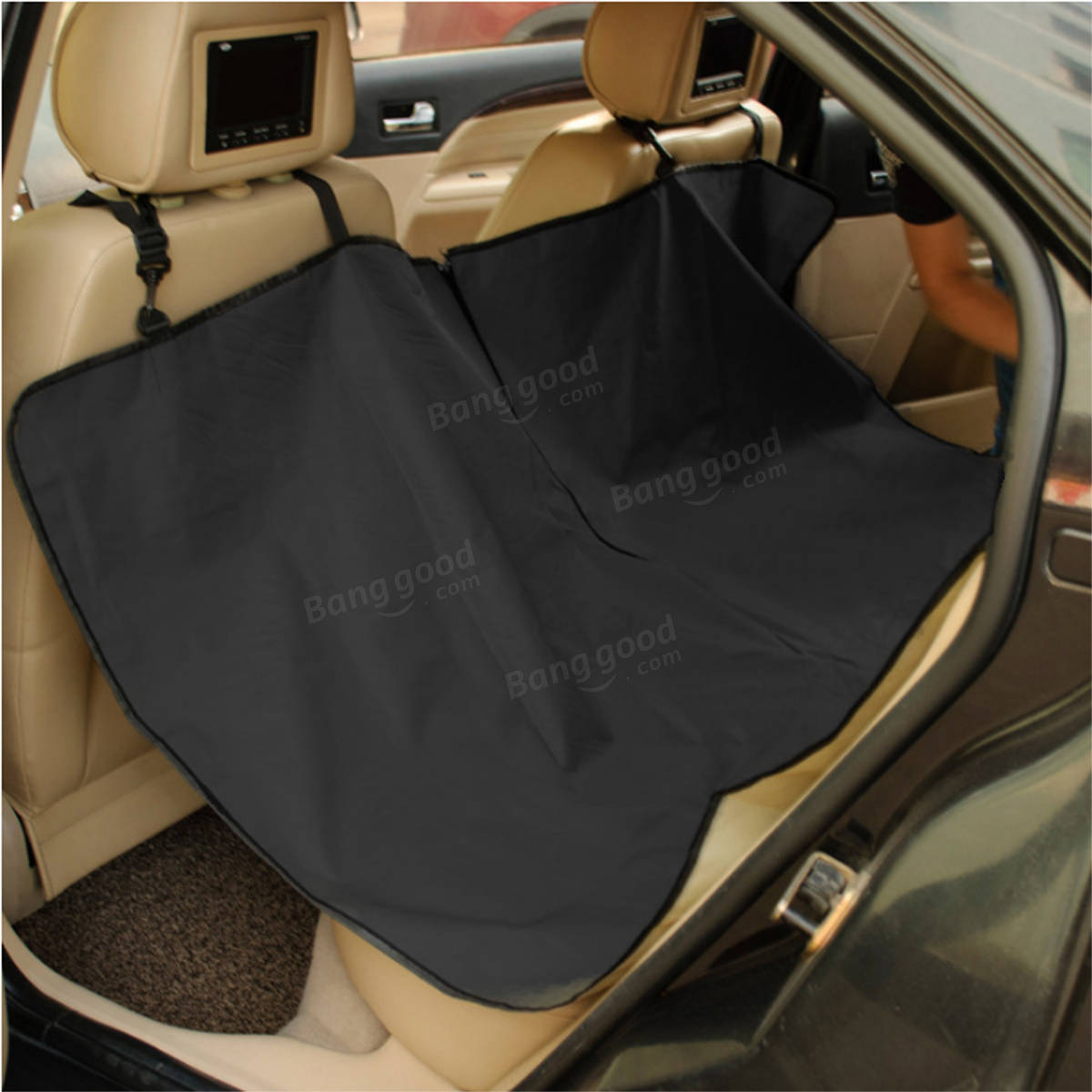 Waterproof Hammock Design Back Bench Car Seat Cover for Pet Dog Pet Supplies