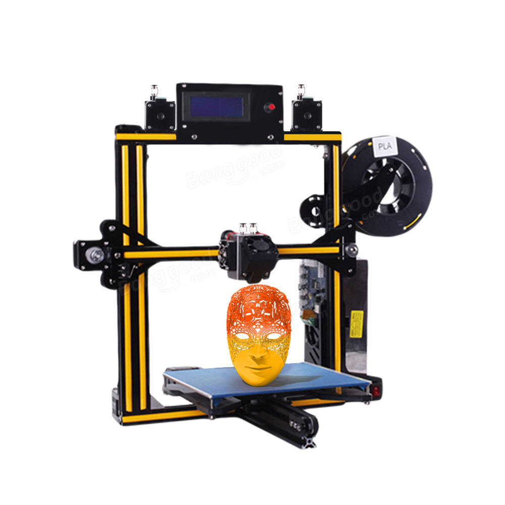 Zonestar® Z5M2 DIY 3D Printer Kit With Auto-leveling Function Single/Dual/Mixed Color Print 220x220x220mm Printing Size 1.75mm 0.4mm Nozzle