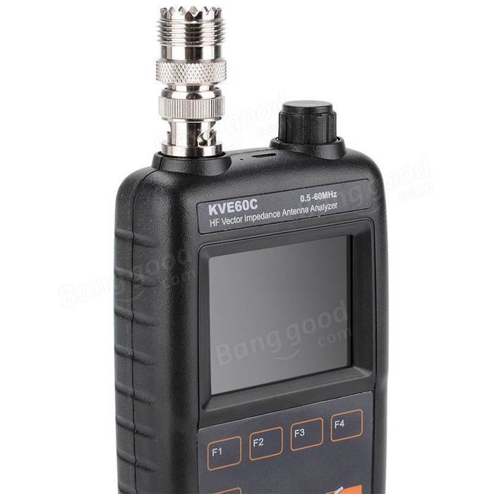 KVE60C HF Vector Impedance Antenna Analyzer for