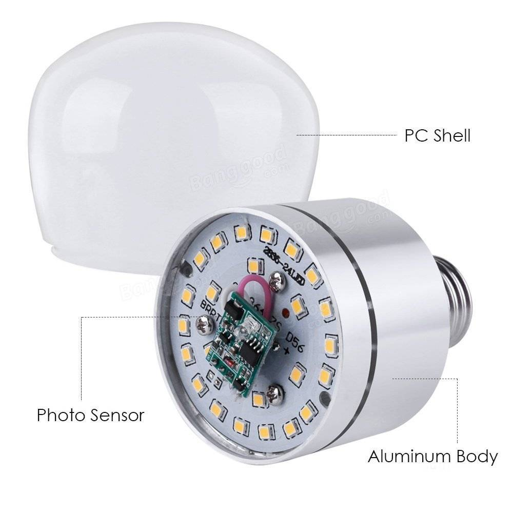 Arilux E27 12w Dusk To Dawn Automatic Onoff Led Sensor Light Bulb Emergency Hot Products Related This Item