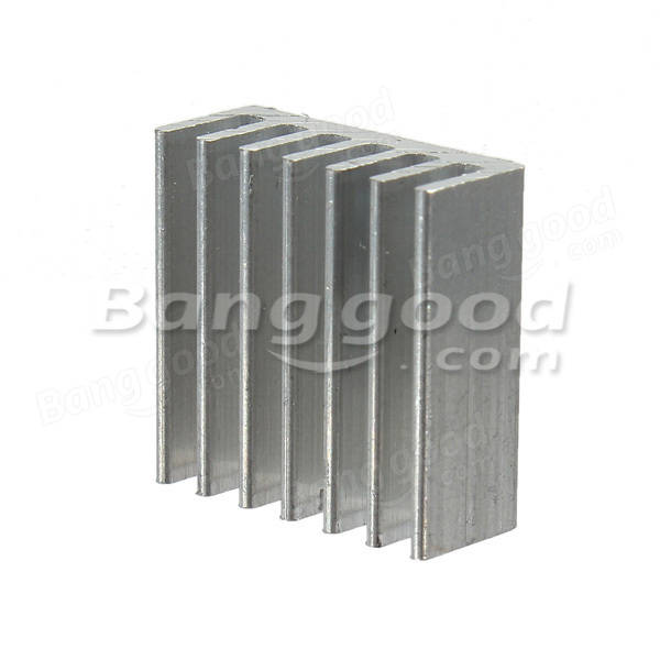 15pcs Adhesive Aluminum Heat Sink Cooler Kit For Cooling Raspberry Pi
