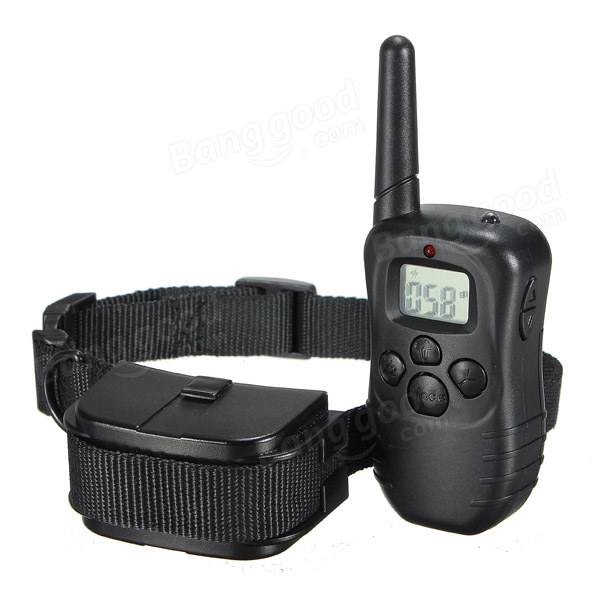 Waterproof 1000m Yard Remote Pet Dog Stop Anti Bark Shock Collar