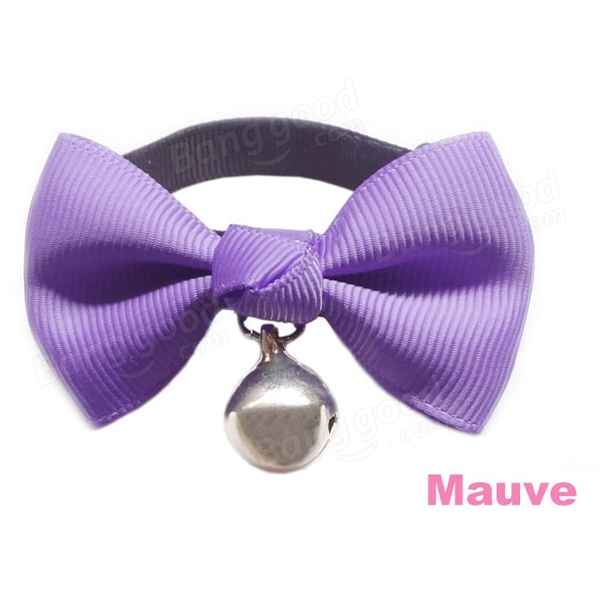 Adjustable Collar Bowtie Pet Dog Necktie Bow Tie