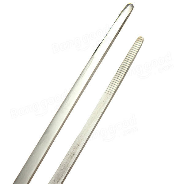 Aquarium Straight Tweezers 27CM Stainless Steel For Plants Tank