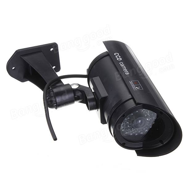 Fake Dummy CCTV  Surveillance Security Camera With Flashing Led