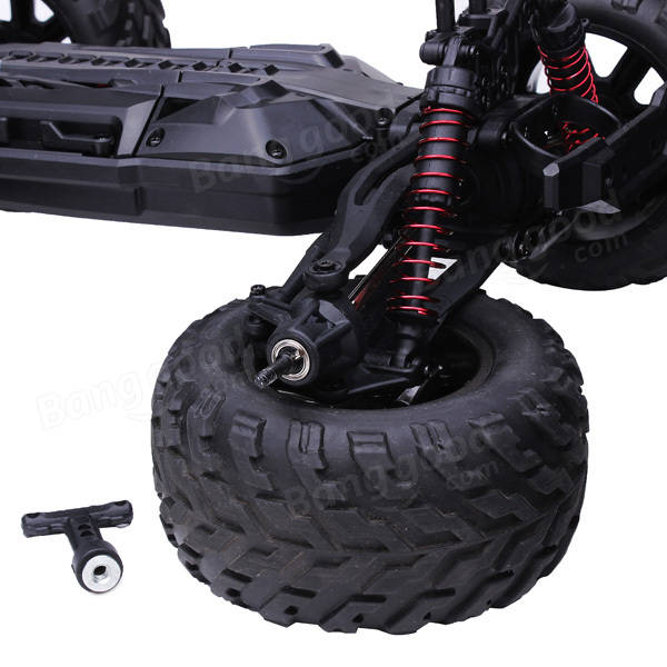 9115 1/12 2.4GHz 2WD Brushed RC Monster Truck RTR